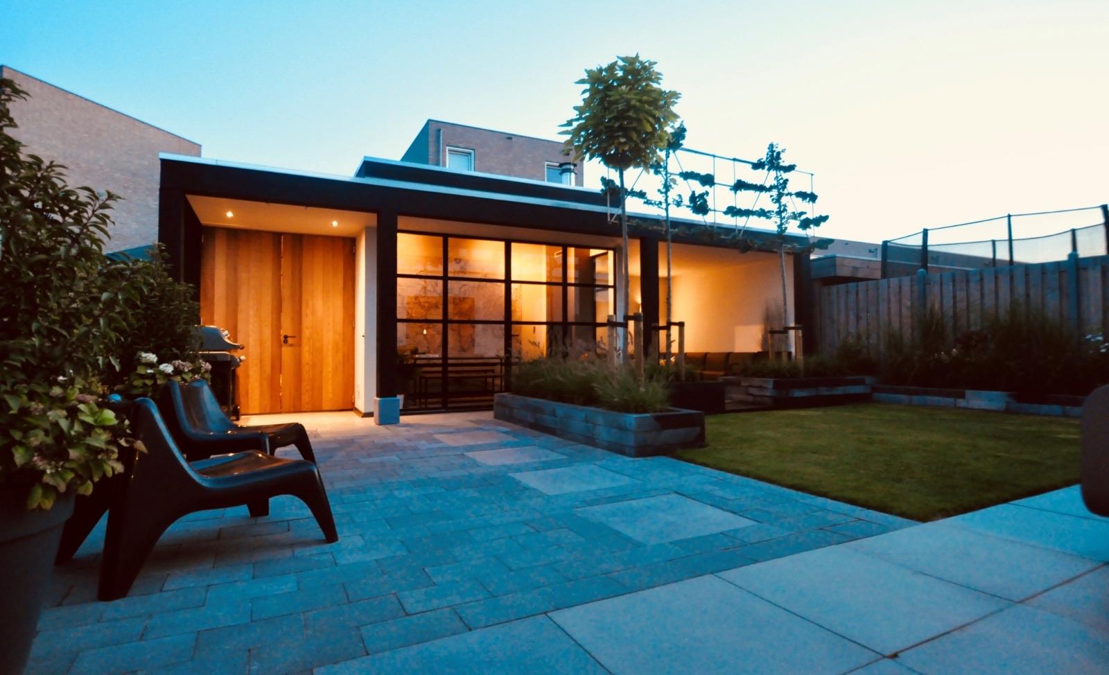 Exclusieve moderne veranda